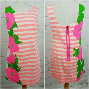 Lilly Pulitzer size 8 Delia Sunrise Dress Pink